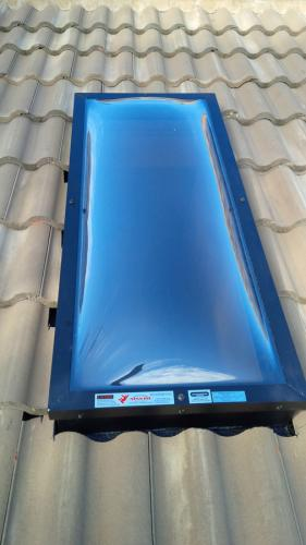 Installed Skylight Polycarbonate Domes 6