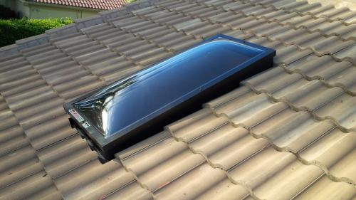 Installed Skylight Polycarbonate Domes 7