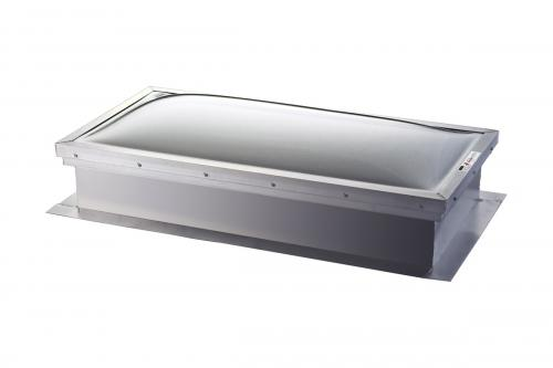 Self Flashing Commercial Flat Roof - Mill Finish
