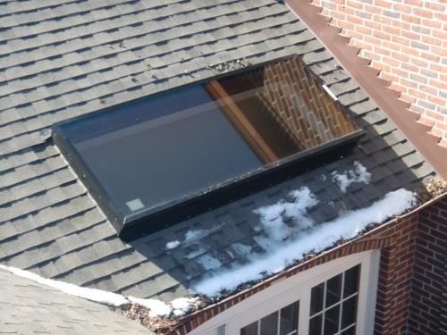 Installed Skylight Insulated Glass 2