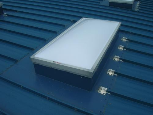 Installed Skylight Polycarbonate Domes 2