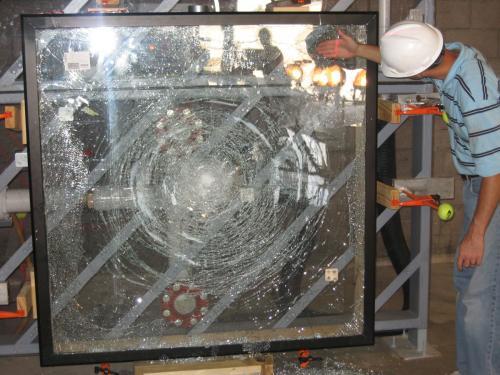 Test Lab 5 Glass Impact